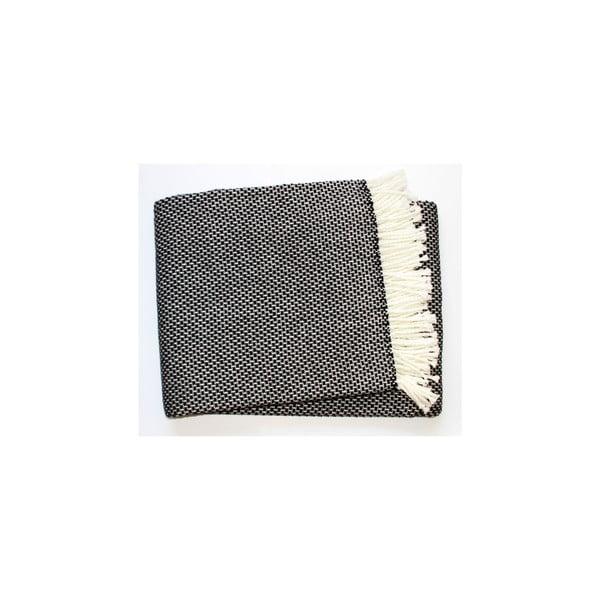 Deka Zen Plaid Black, 140x180 cm