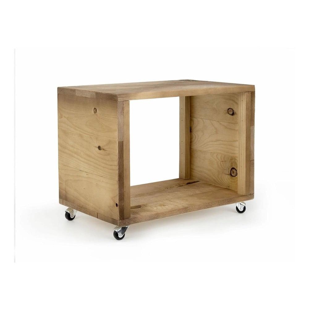 Dřevěný pojízdný stolek Really Nice Things