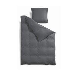 Povlečení 140 x 200 cm, šedé