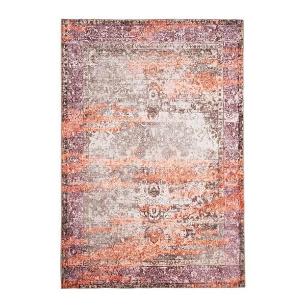 Béžovo-oranžový koberec Floorita Vintage, 120 x 180 cm