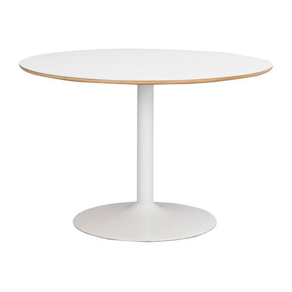 Bílý jídelní stůl Rowico Alet