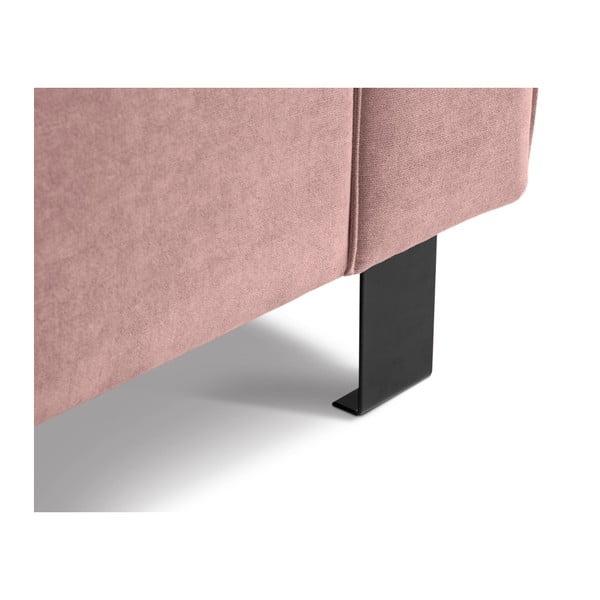 Světle růžové křeslo Kooko Home Modern