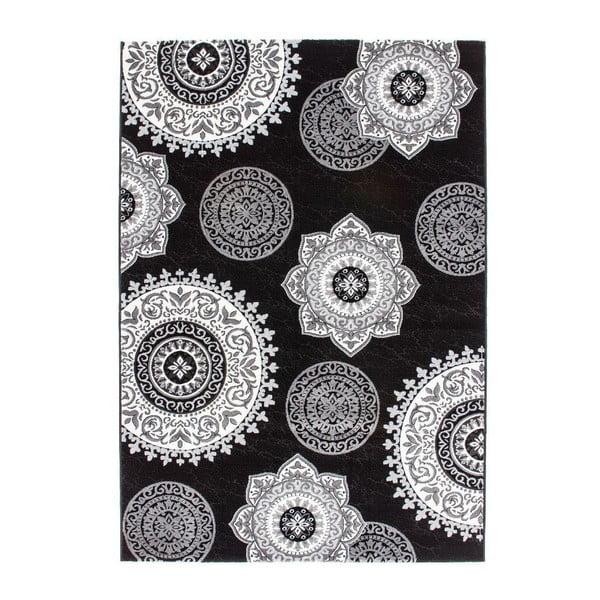 Koberec Odense Black, 80x150 cm