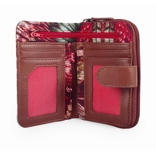Barevná peněženka s exotickými vzory Lois, 14 x 9 cm