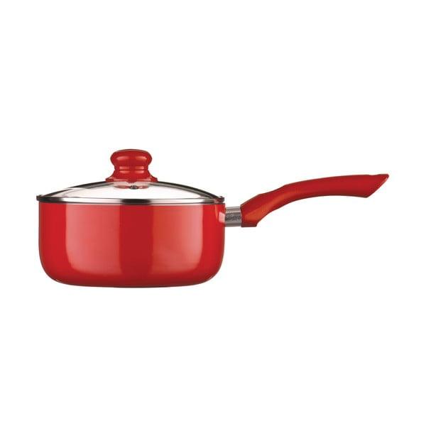 Garnek z pokrywką Premier Housewares Ecocook Red Large, 2,2l
