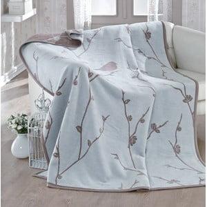 Deka Mint Birds, 180x220 cm