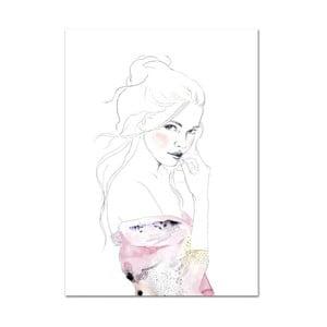 Plakát Leo La Douce Edda,  42x59,4cm