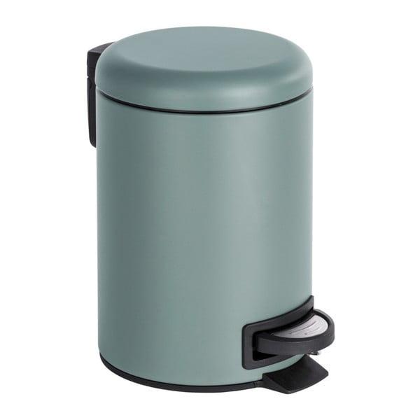 Coș de gunoi cu pedală Wenko Leman, 3 l, gri