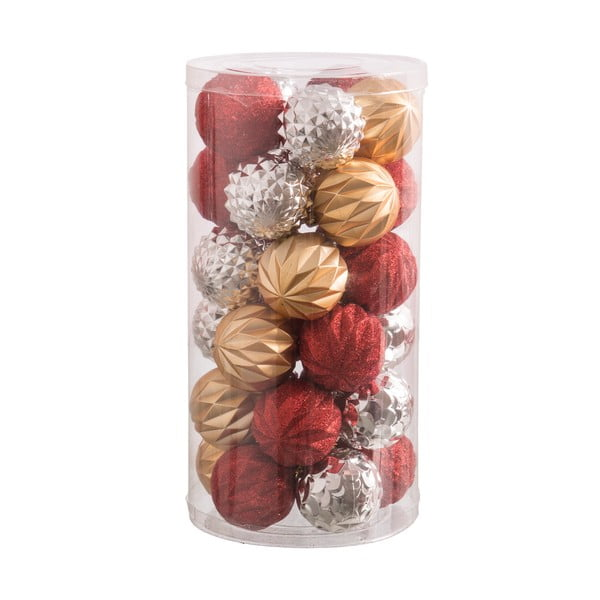 Sada 30 vianočných ozdôb Unimasa Balls