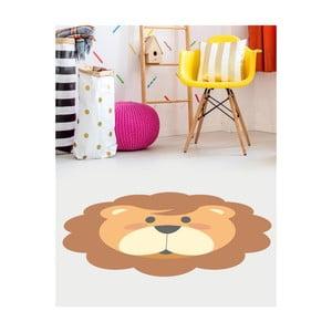 Dětský vinylový koberec Floorart Lev, ⌀ 100 cm
