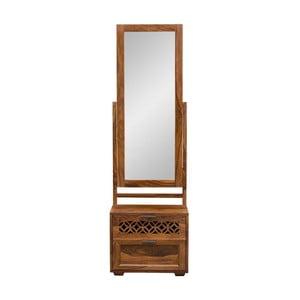 Toaletní stolek se zrcadlem z palisandrového dřeva Massive Home Rosie