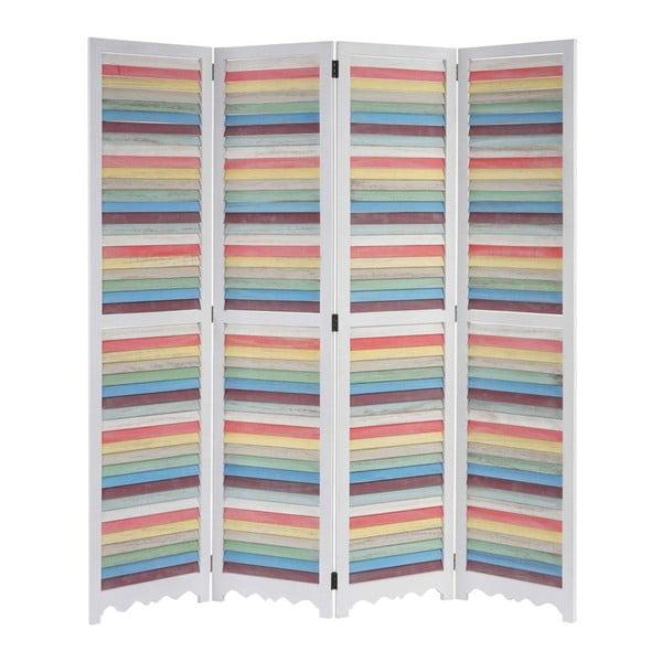 Paravan Patchwork Pastel White, 161x170 cm