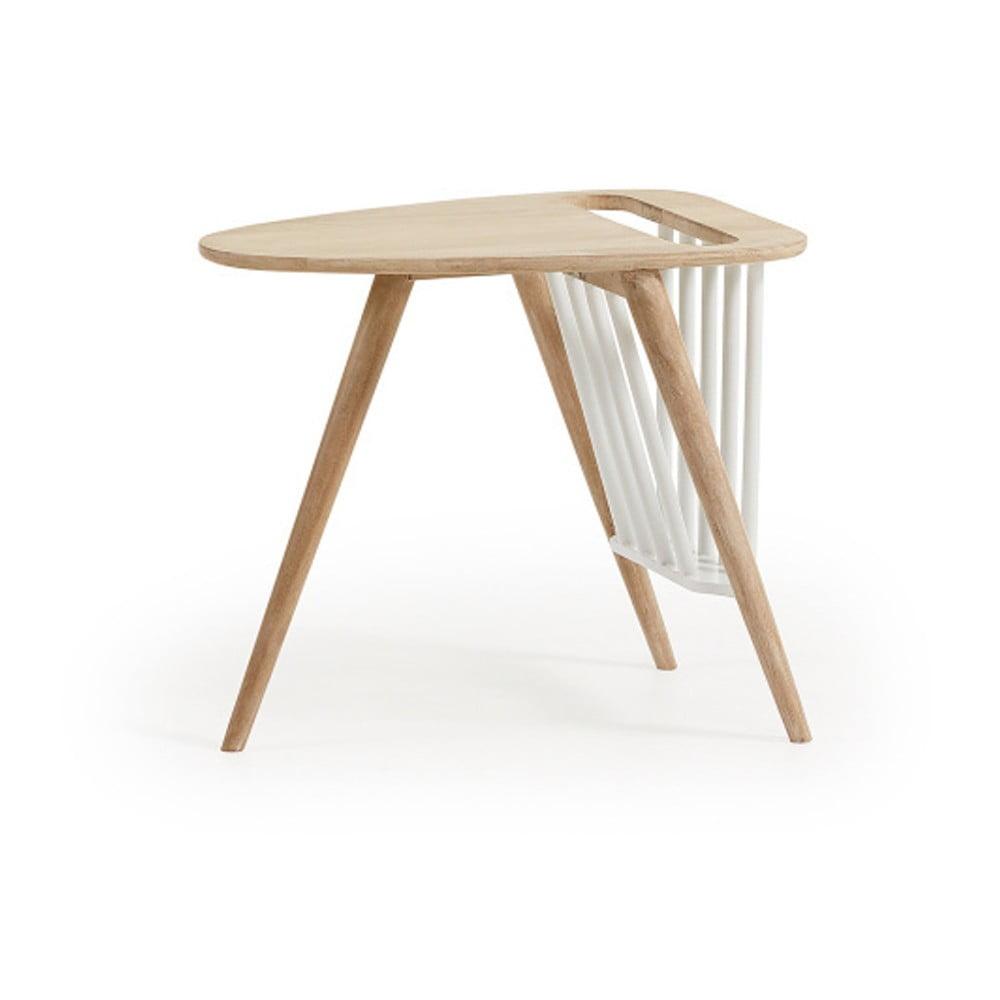 Příruční stolek se stojanem na časopisy La Forma Haka