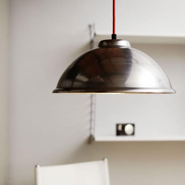 Stropní svítidlo Globe Stahl/Red