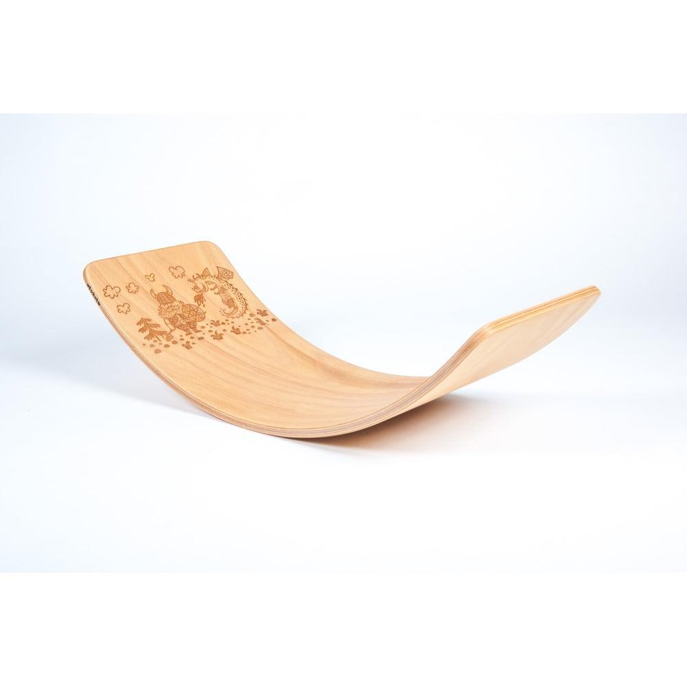Bukové houpací prkno Utukutu Viking, délka82cm