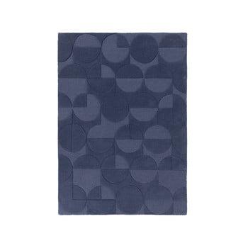 Covor din lână Flair Rugs Gigi, 160 x 230 cm, albastru de la Flair Rugs