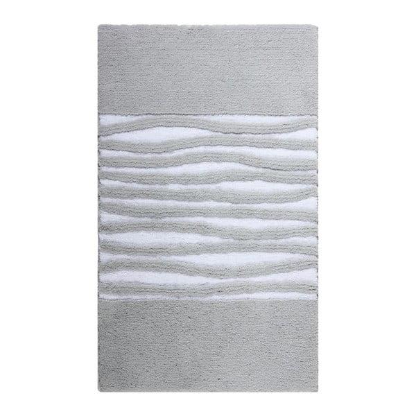 Koupelnová předložka Morgan Silver Grey, 60x100 cm