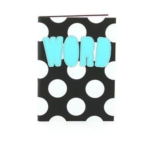 Zápisník Blueprint Collections Word A6