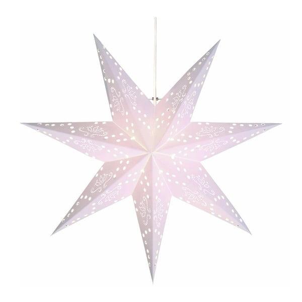 Závěsná svítící hvězda Romantic Star, 54 cm