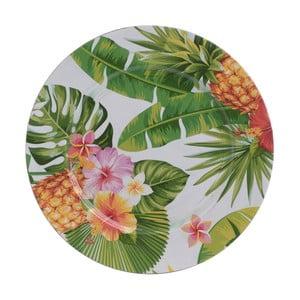 Talíř s motivem ananasu InArt, ⌀ 36 cm