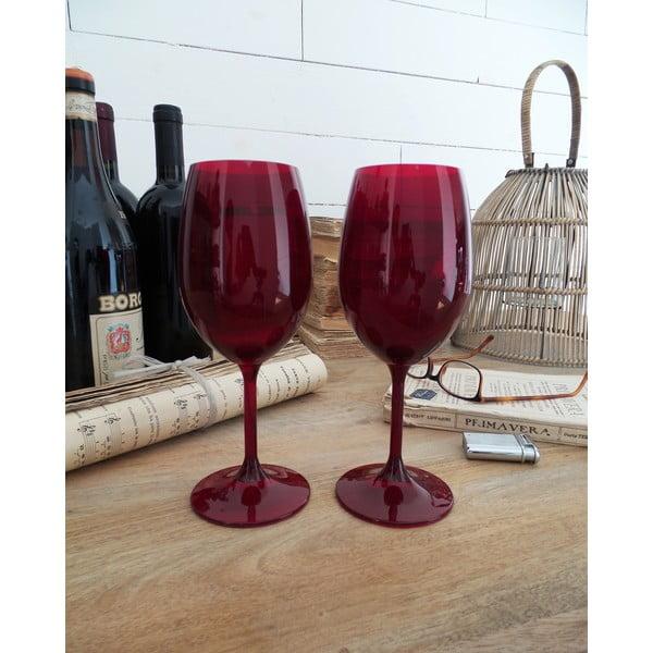 Sada 6 skleniček na víno Rosso