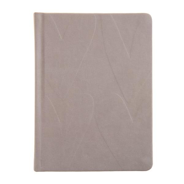 Sivobéžový zápisník Caroline Gardner Essential