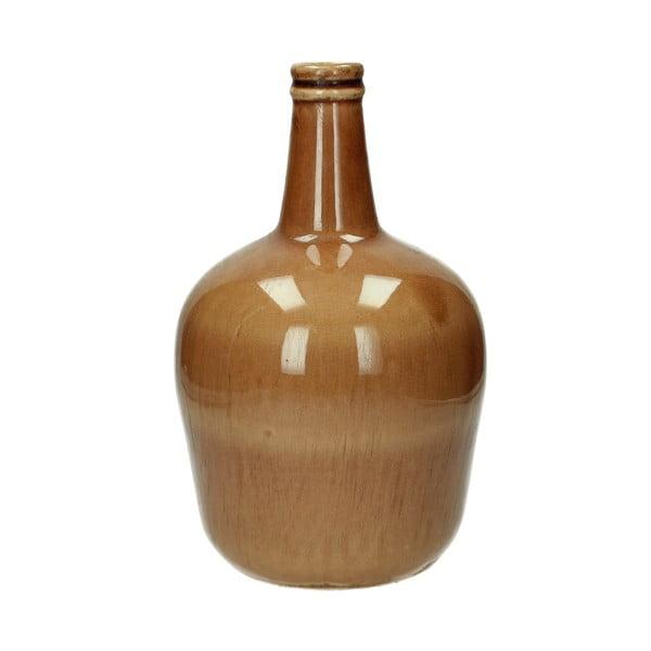 Hnědá keramická váza HF Living