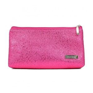 Fuchsiová kosmetická taštička Dara bags Baggie Middle No.710