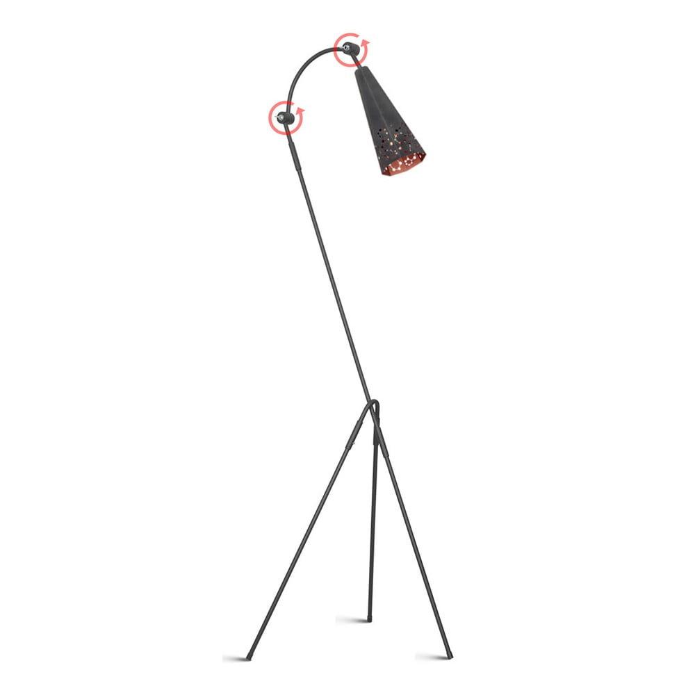 Volně stojící nastavitelná lampa Arietis
