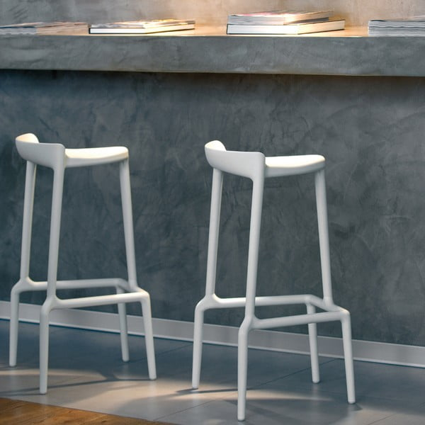 Barová židle Happy 490, magenta