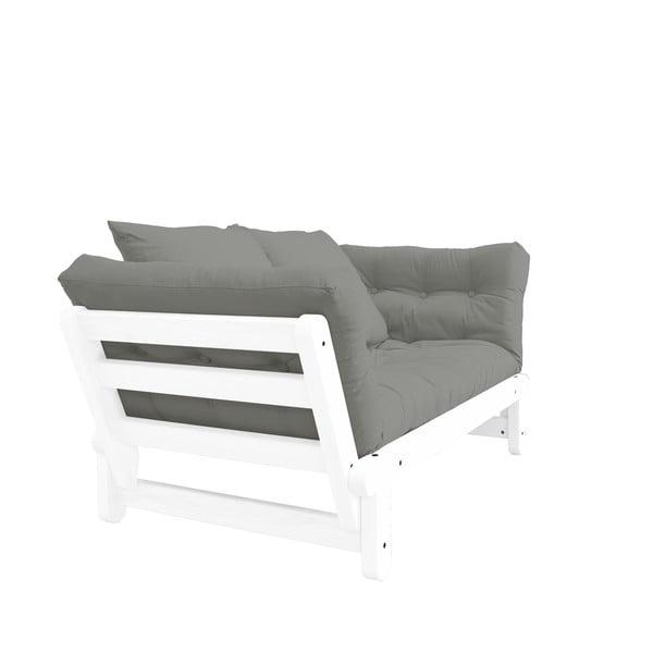 Canapea extensibilă Karup Beat White/Grey