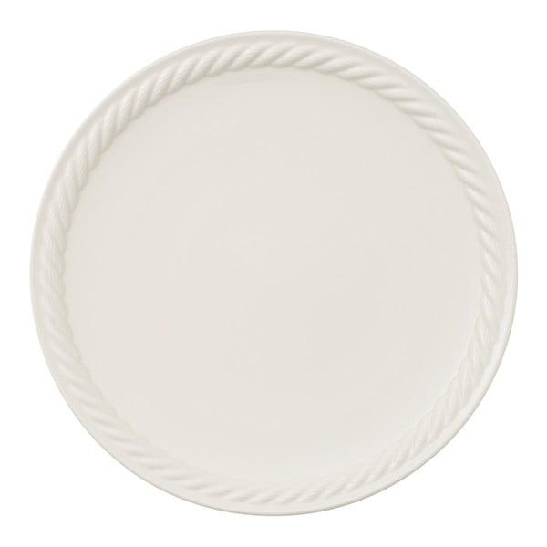 Farfurie din porțelan pentru pizza Villeroy & Boch Montauk, alb, ⌀ 32 cm