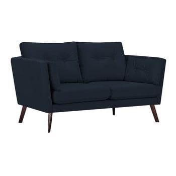 Canapea cu 2 locuri Mazzini Sofas Cotton, albastru închis de la Mazzini Sofas