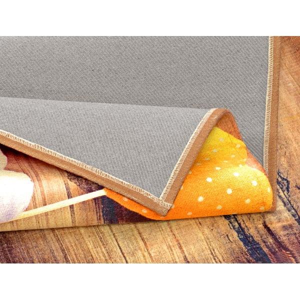 Vysoce odolný kuchyňský koberec Webtappeti Sweethearts,60x140cm