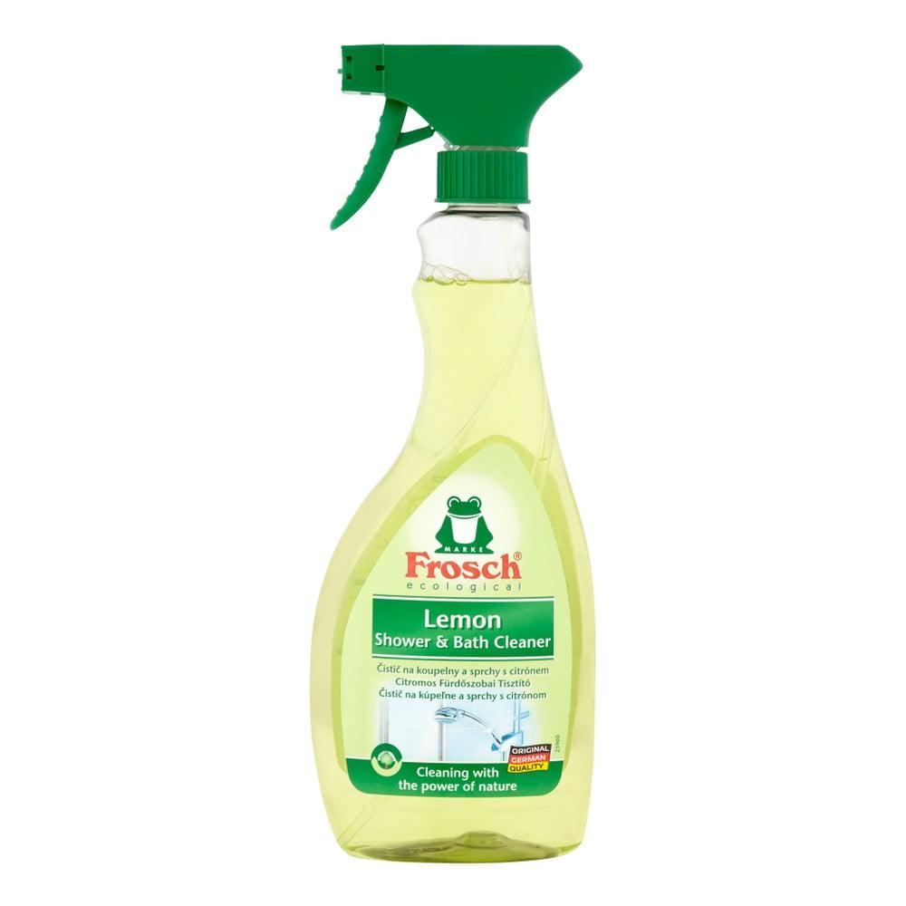 Ekologický čistič koupelen FROSCH s kyselinou citronovou, 500ml
