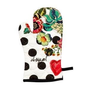 Kuchyňská rukavice DESIGUAL Polka Dots Negro