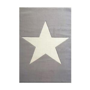 Covor pentru copii Happy Rugs Superstar, 120x180 cm, gri