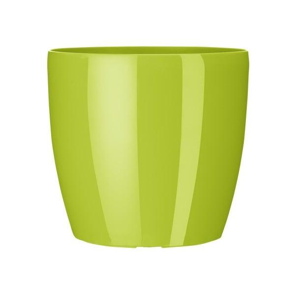 Vysoce odolný květináč Casa Brilliant 16 cm, zelený