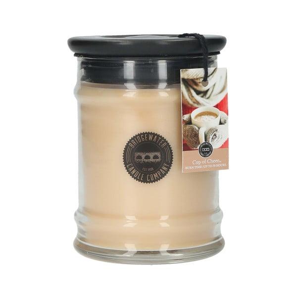 Cup of Cheer illatgyertya üvegben, égési idő 65-85 óra - Creative Tops