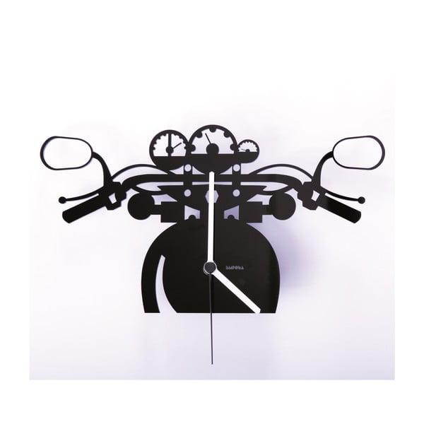 Plexisklové hodiny Motorka