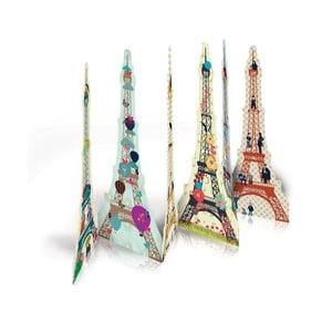 Set semne de carte Mon Petit Art Tours Eiffel