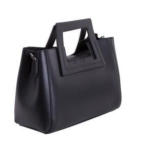 Černá kabelka z pravé kůže Andrea Cardone Alessia