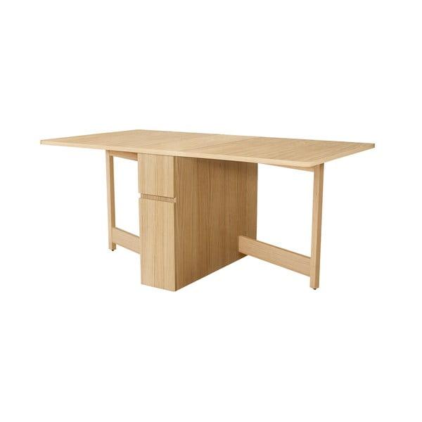 Rozkładany stół dębowy Woodman Mel