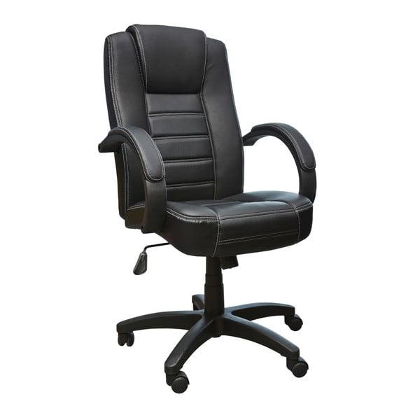 Černá kancelářská židle 13Casa Lawyer Nero