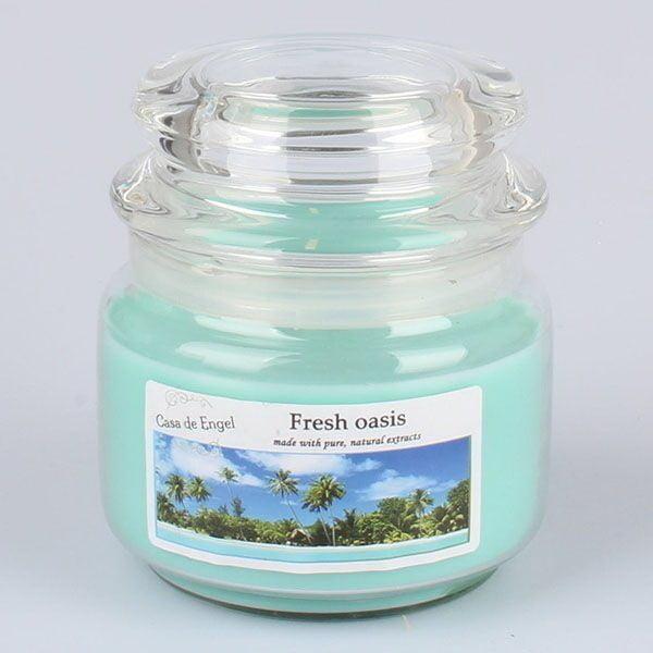 Sviečka s vôňou oázy Dakls, 210 g