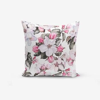 Față de pernă Minimalist Cushion Covers Flower Pink, 45 x 45 cm de la Minimalist Cushion Covers