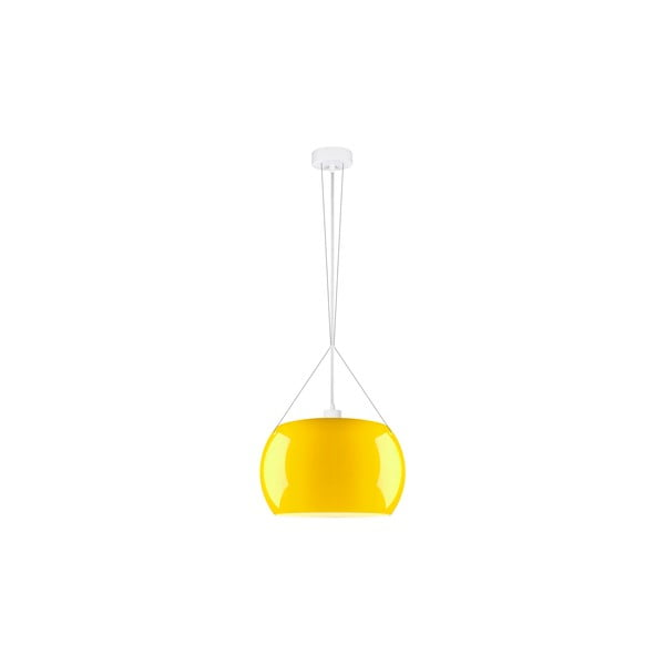 Světlo MOMO Elementary, lesklá žlutá/bílá/bílá
