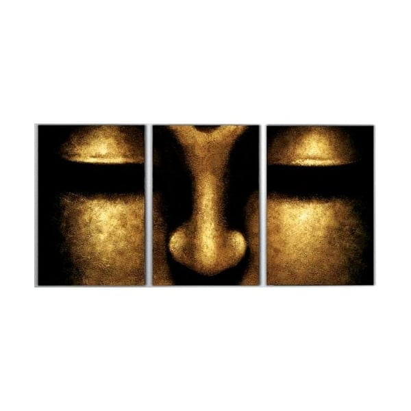3dílný obraz Egypt, 45x90 cm