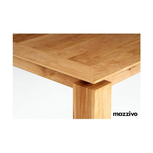 Jídelní stůl z olšového dřeva Mazzivo Linia 52.1, 200x100cm