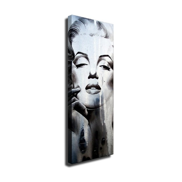 Marilyn vászon fali kép, 30 x 80 cm
